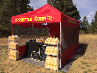Popaahs Kettle Corn Booth Photo